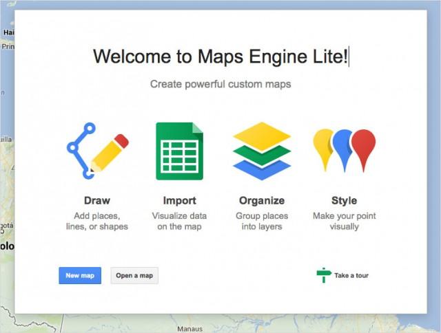 Googleのポップアップは新しい機能を表示し、ユーザーがツアーに参加できるように呼びかけています。これはユーザーを教育する上で非常に優れた方法です (画像:The Programming Historian) (拡大図を見る)