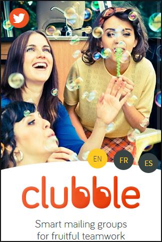 ClubbleのモバイルWebサイトにある言語ISOコード