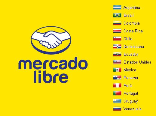 Mercado Libreの国を選択する機能