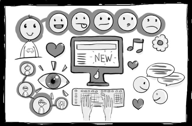 そして製品は、ユーザーを機械ではなく、むしろ自分たちと関係を構築したいと考えている1人の人間としてみなすようなウェブサイトになるのです。