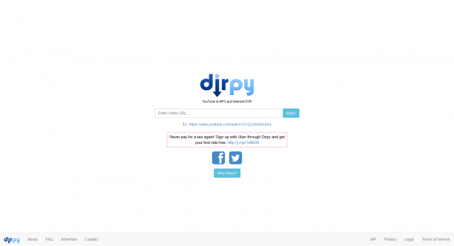 Dirpy  Internet DVR  YouTube to MP3