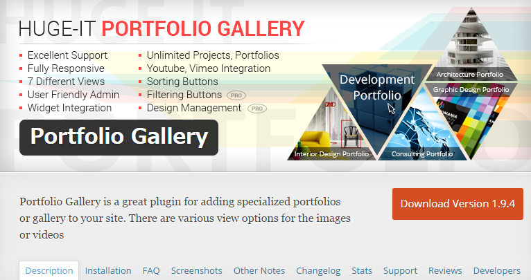 Portfolio Gallery — WordPress Plugins