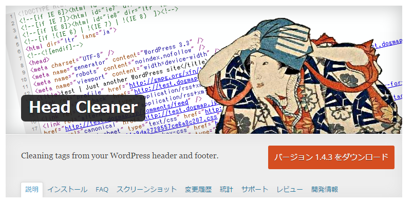 Head Cleaner — WordPress Plugins