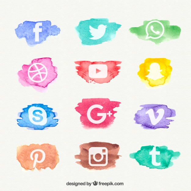 watercolor-social-network-icon-collection_23-2147543554