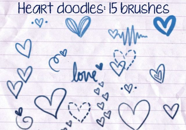heart-doodles-brushes-1