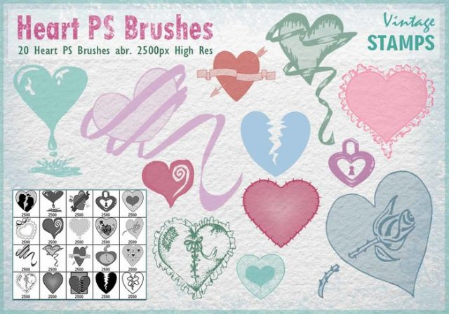 heart-ps-brushes