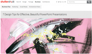 7 Design Tips for Effective  Beautiful PowerPoint Presentations   The Shutterstock Blog