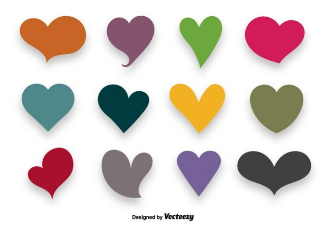colorful-hearts-vector-set