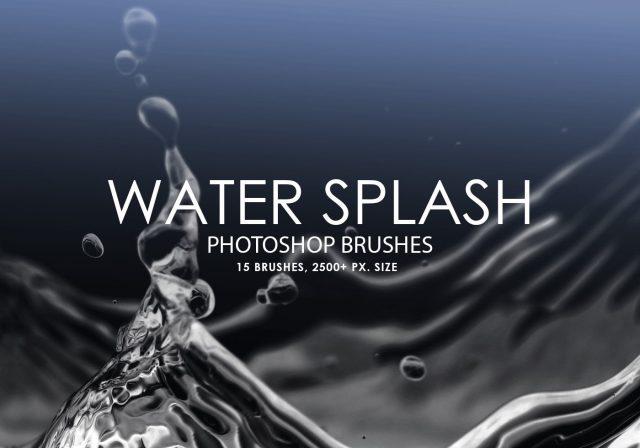 free-water-splash-photoshop-brushes
