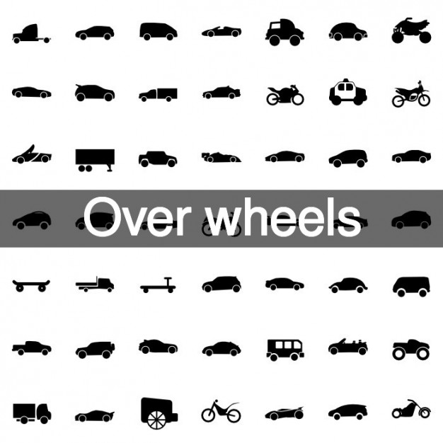 over-wheels-icons-collection_318-94
