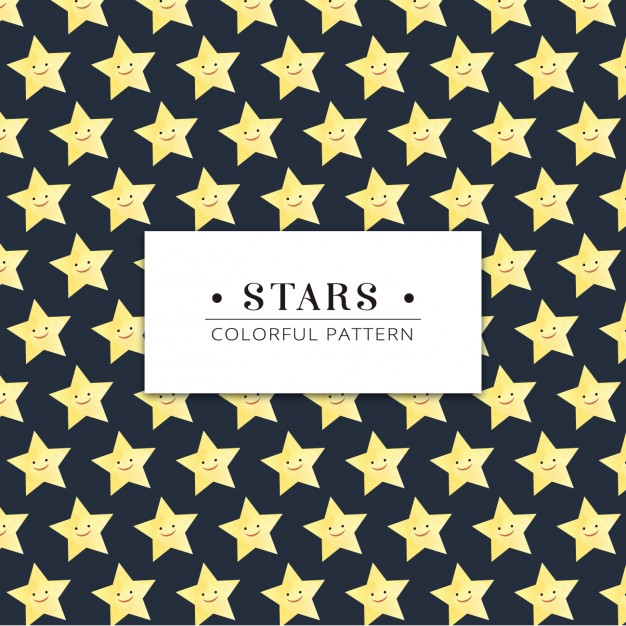 smiley-stars-pattern_1106-33