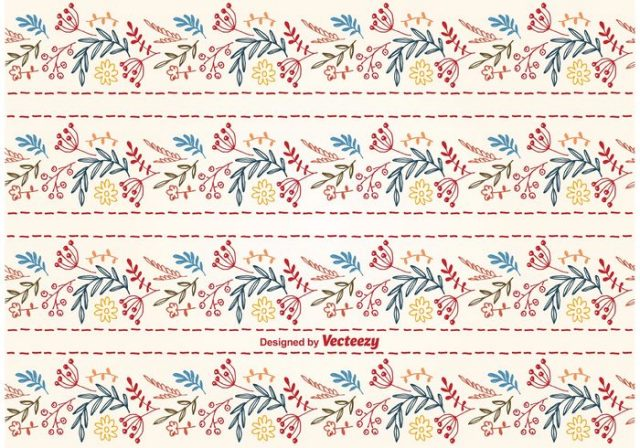 vector-cute-floral-background-pattern