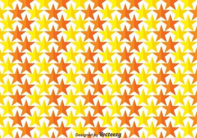 yellow-and-orange-star-background-vector
