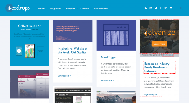 Web Design Development News Collective 227 Codrops