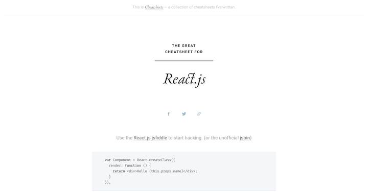 react-js-cheatsheet