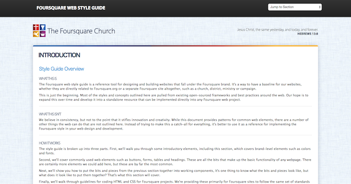 foursquare-sytle-guide