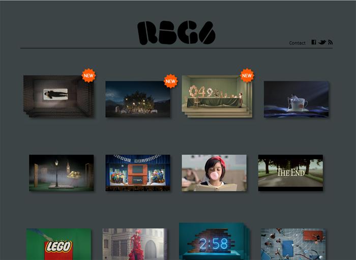 人目を惹くフォントでデザインされたタイトルは、Webサイトのデザイン全体に斬新さを添えています。