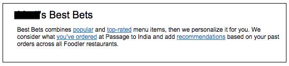Foodlerは、どのようなレストランでも、ユーザーが何を食べたいかを予測することができます。