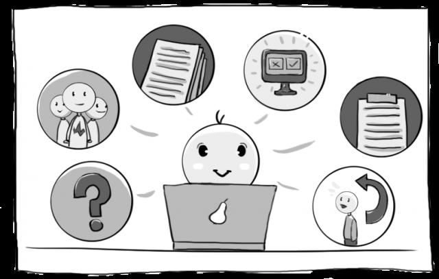 シナリオは、ユーザーがそれを聞いた際にそれが意味をなすそのような方法で定められなければならず、そして不完全または記憶するには量が膨大すぎないものである必要があるでしょう。それは、ユーザーが自然に物事を行うことができ、フィードバックが最も大きな価値を持っている時です。