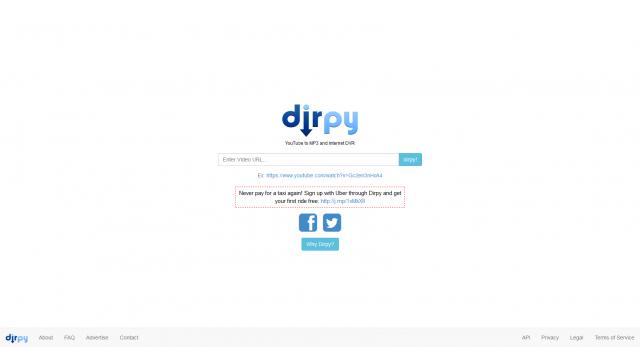 Dirpy  Internet DVR  YouTube to MP3