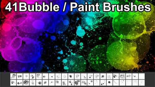 bubble-paint-brushes