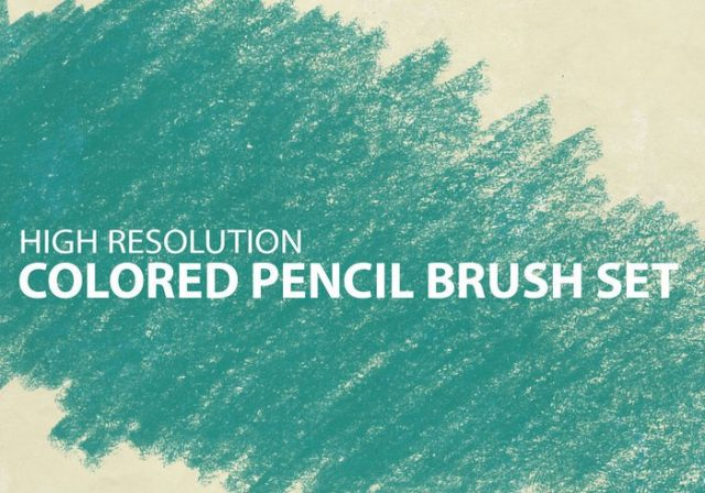 http://www.brusheezy.com/brushes/7758-colored-pencil-brush-set