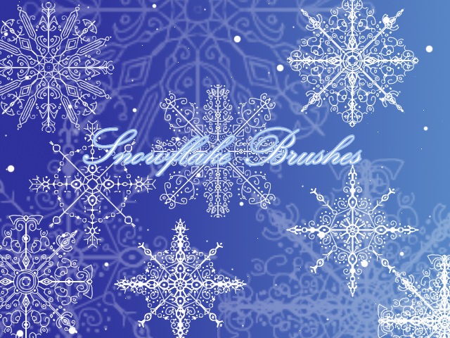 snowflake_brushes_by_tairoruxryuu