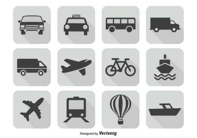 transportation-icon-set-vector