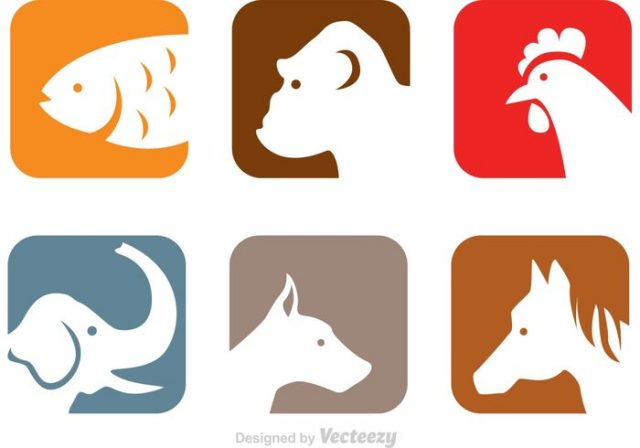 vector-animals-head-icons