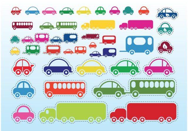 vector-car-bus-truck