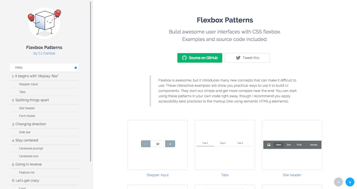 flexbox-patterns