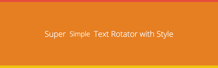 simple_text_rotator