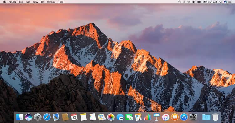 macOS Sierraの画面(画像参照元:Apple)