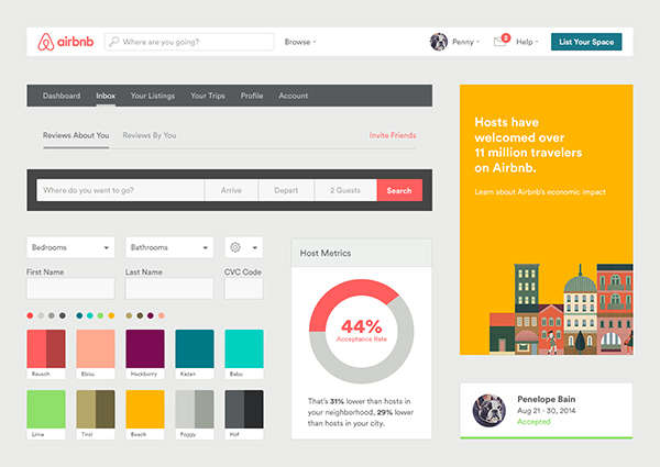 webデザインのスタイルガイドの作り方 ux milk